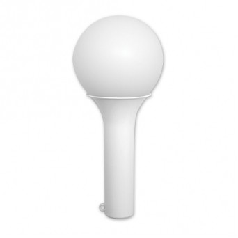 White Balloon Maracas